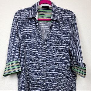 Foxcroft Wrinkle Free Fitted Fit Button Down 14